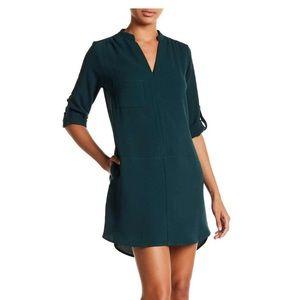 NWT Lush 3/4 Sleeve Shift Dress with Pockets Sm